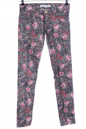 Clockhouse Skinny Jeans Blumenmuster Casual-Look