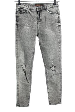 Clockhouse Skinny Jeans hellgrau Casual-Look