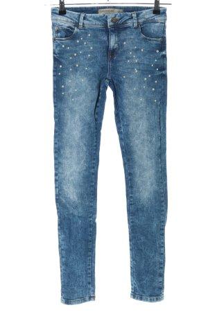 Clockhouse Slim Jeans blau Casual-Look