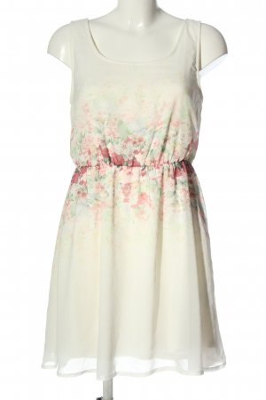 Clockhouse Summer Dress flower pattern casual look