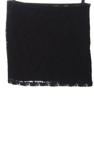 Clockhouse Koronkowa spódnica czarny W stylu casual