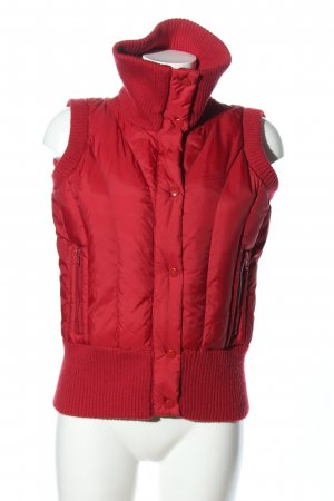Clockhouse Steppweste rot Steppmuster Casual-Look