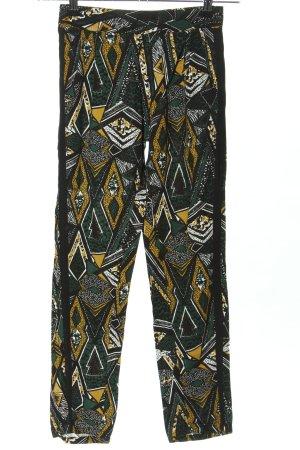 Clockhouse Pantalone jersey stampa integrale stile casual