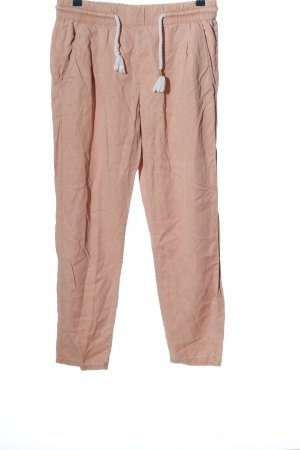Clockhouse Stoffhose pink-weiß Casual-Look