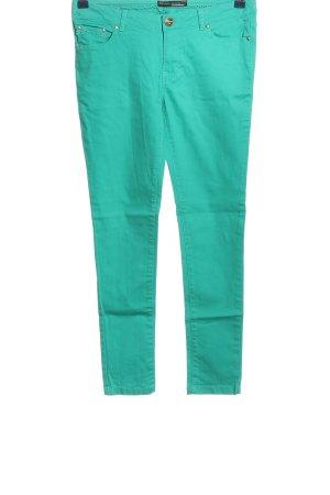Clockhouse Jeansy z prostymi nogawkami turkusowy W stylu casual