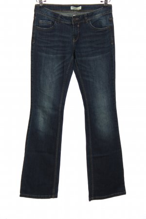 Clockhouse Jeansy z prostymi nogawkami niebieski W stylu casual