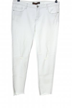 Clockhouse Stretch Jeans weiß Casual-Look