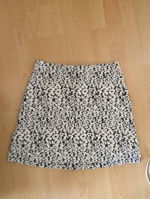Clockhouse Miniskirt black-white
