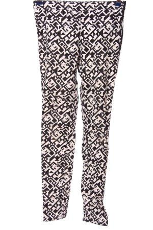 Clockhouse Pantalón elástico negro-blanco look casual