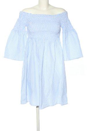 Clockhouse Stretchkleid blau-weiß Streifenmuster Casual-Look