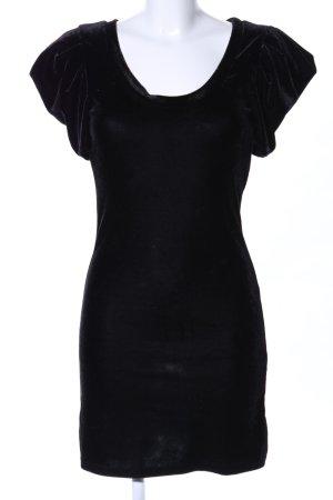 Clockhouse Vestido elástico negro look casual