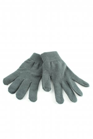 Clockhouse Knitted Gloves light grey casual look