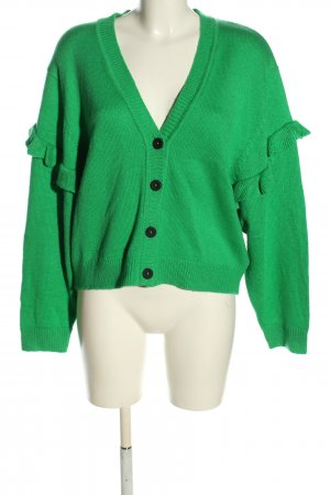 Clockhouse Strickjacke grün Casual-Look