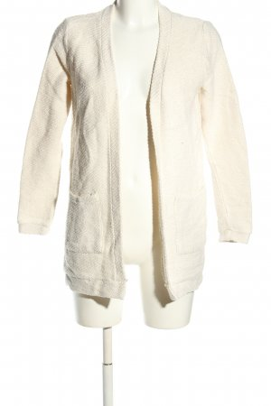 Clockhouse Strickjacke wollweiß Casual-Look