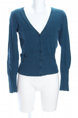 Clockhouse Strickjacke blau meliert Casual-Look