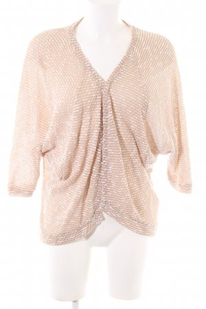 Clockhouse Strickjacke nude-weiß meliert Casual-Look