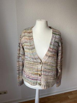 Clockhouse Cardigan a maglia grossa multicolore