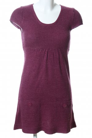 Clockhouse Knitted Dress pink flecked casual look
