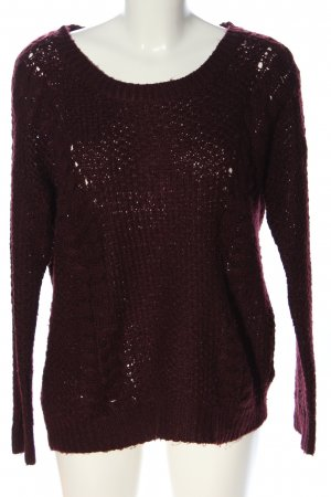 Clockhouse Strickpullover rot Casual-Look