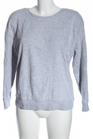 Clockhouse Suéter gris claro moteado look casual