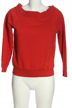 Clockhouse Sweat Shirt red casual look