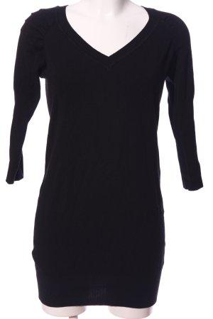 Clockhouse V-Ausschnitt-Pullover schwarz Casual-Look
