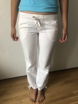 Clockhouse Low-Rise Trousers white