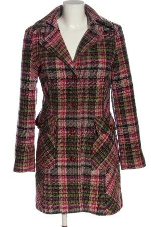 Clockhouse Wełniany płaszcz Na całej powierzchni W stylu casual