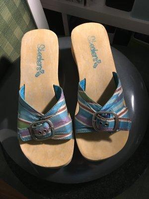 Skechers Pantoufles-chaussette multicolore