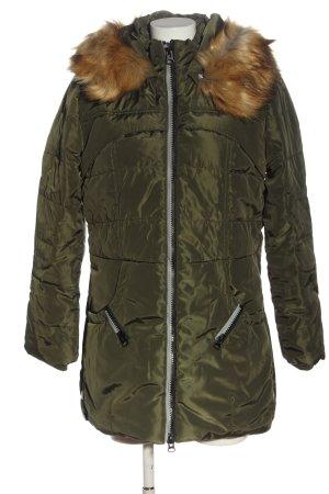 Clocolor Winter Jacket khaki quilting pattern wet-look