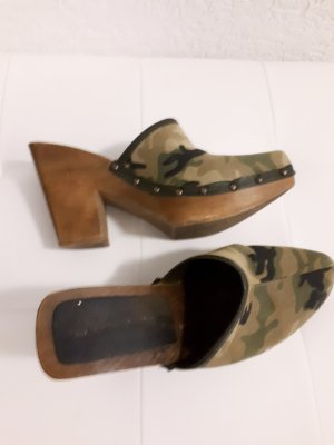 Clogs camounflage gr 37