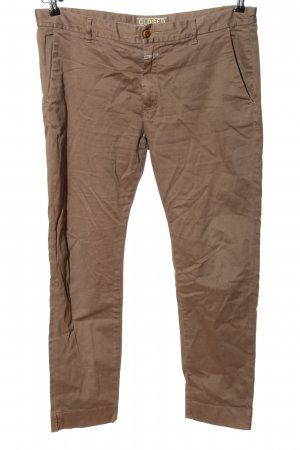 Closed 3/4-Hose braun Casual-Look