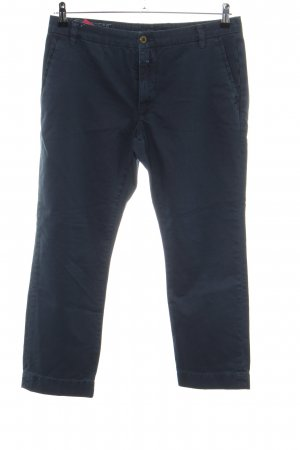 Closed 3/4-Hose blau Casual-Look