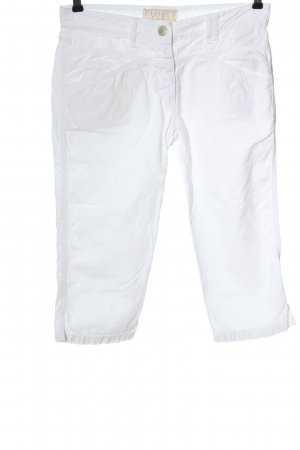 Closed Jeans a 3/4 bianco stile casual