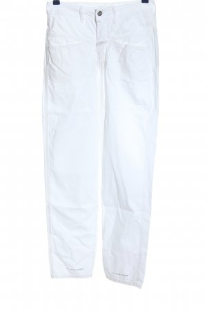 Closed 7/8 Length Trousers white casual look
