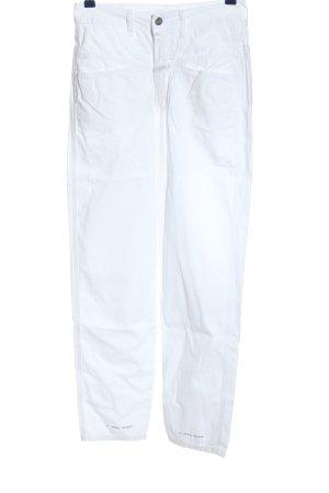 Closed Spodnie 7/8 biały W stylu casual