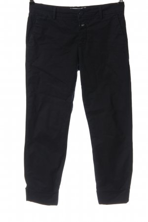 Closed 7/8 Length Trousers black casual look