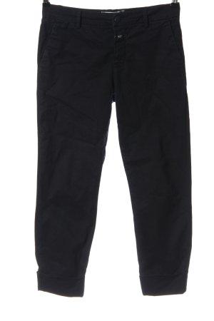 Closed Pantalon 7/8 noir style décontracté