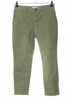 Closed 7/8-Hose khaki Casual-Look