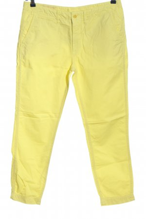 Closed 7/8-Hose blassgelb Casual-Look