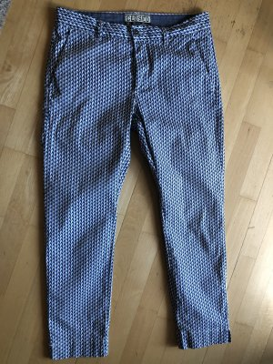 Closed 7/8 Length Trousers multicolored