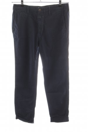 Closed 7/8 Length Trousers blue cotton