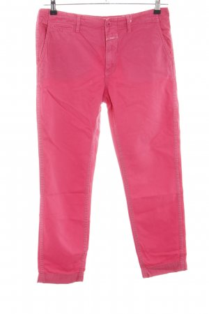 Closed 7/8-Hose pink Casual-Look