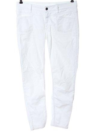 Closed Jeans 7/8 blanc style décontracté