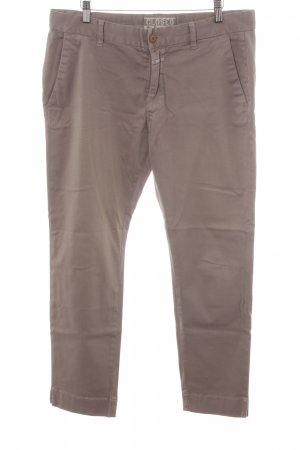 Closed Jeans a 7/8 marrone chiaro stile casual
