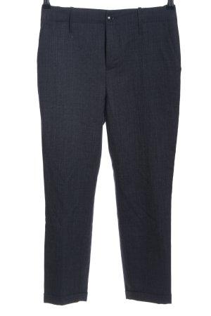 Closed Pantalone da abito grigio chiaro puntinato stile professionale