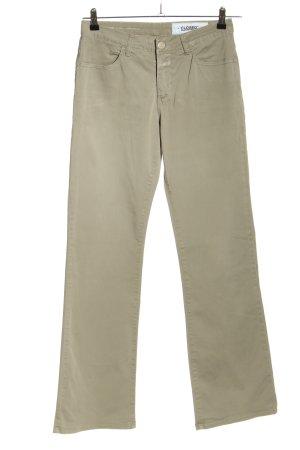 Closed Baggy Pants khaki simple style