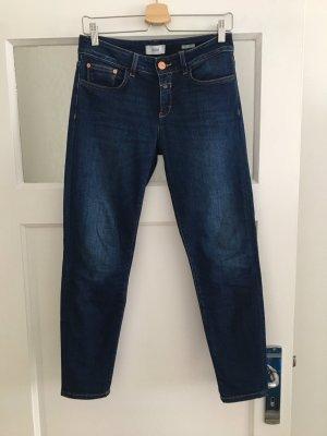 Closed Jeans slim bleu foncé coton