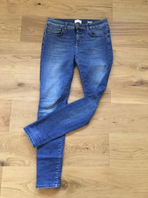 Closed Stretch jeans donkerblauw Katoen