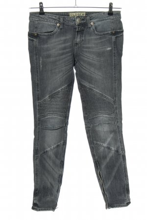 Closed Bikerjeans hellgrau Casual-Look